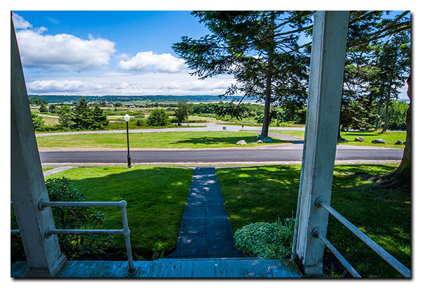 Fort Casey Inn Vacation View From Porch